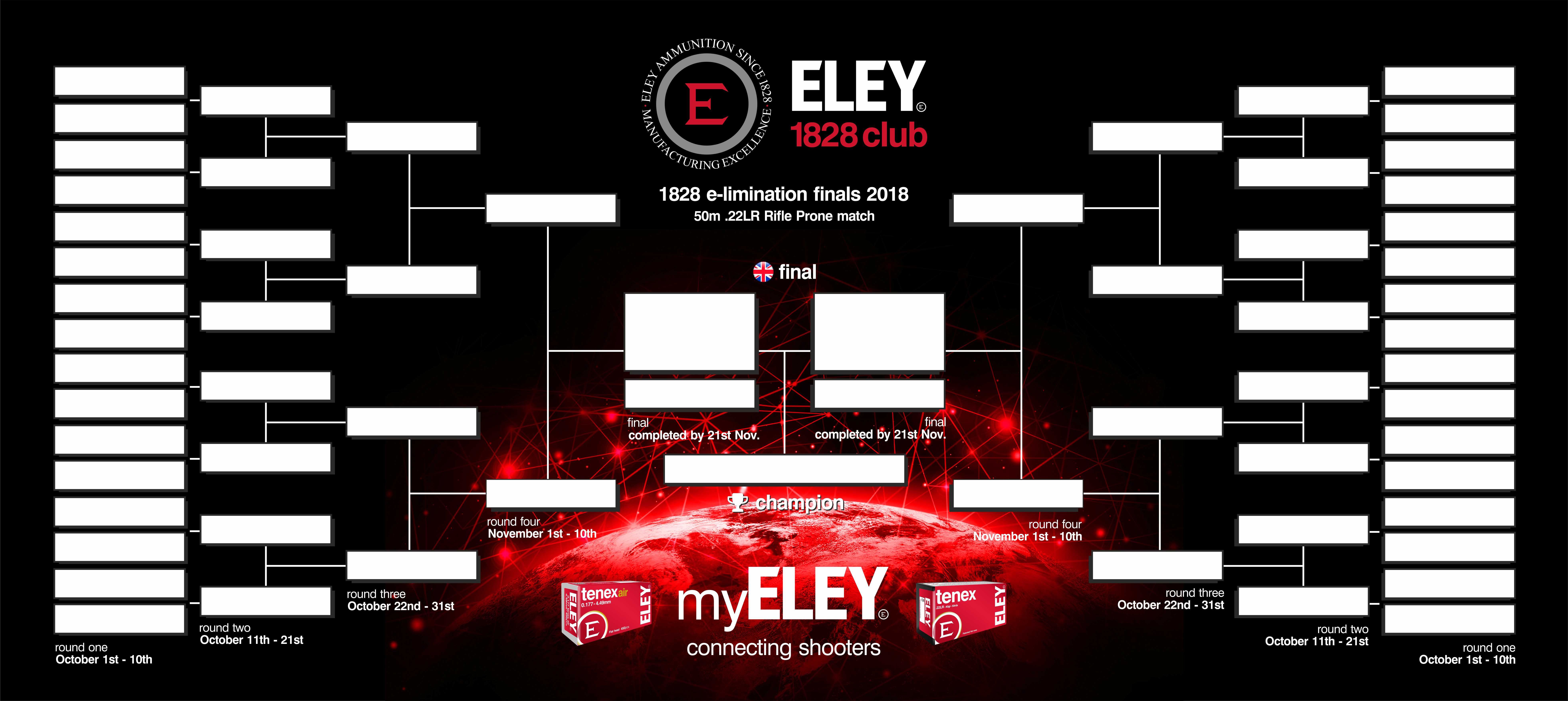 ELEY 1828 club e-limination match 2018