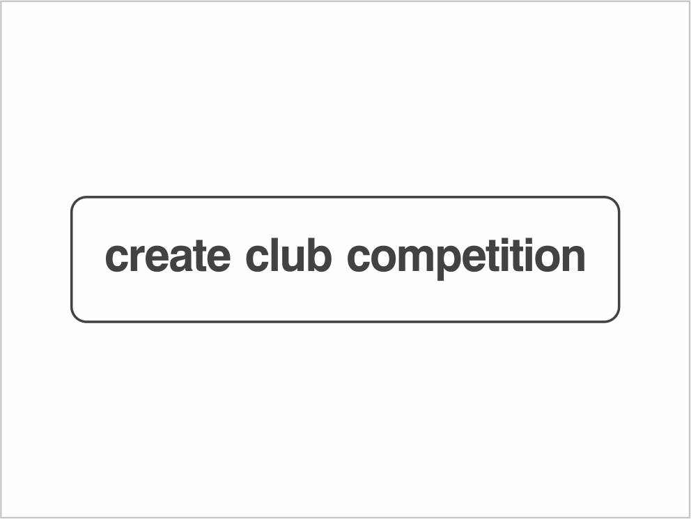 Create a club competition with myELEY