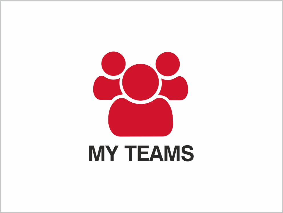 Enter team competitions with myELEY